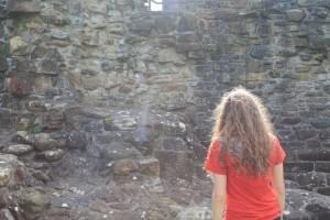 Admiring St. Andrew's Castle