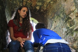 Lindsey Meyer, '14 and Neuroscience major, and I fail to imagine life in the dungeons