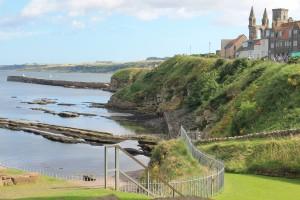 The beautiful Scottish coast