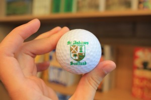 Taken specifically for Lorn Foster, Professor of Politics, because of his love of both golf and Scotland!