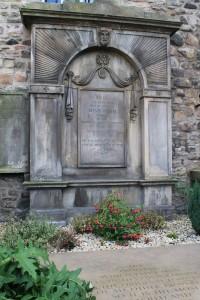 Adam Smith's grave!