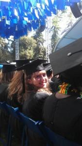 Me at graduation itself