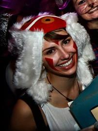 Me dressed as Princess Mononoke last Halloween