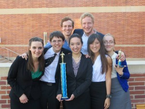 In mock trial you win shiny things!
