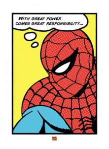 lgppr40105+great-power-great-responsibility-spiderman-art-print