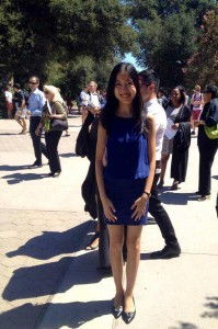 April at the Pomona College Convocation