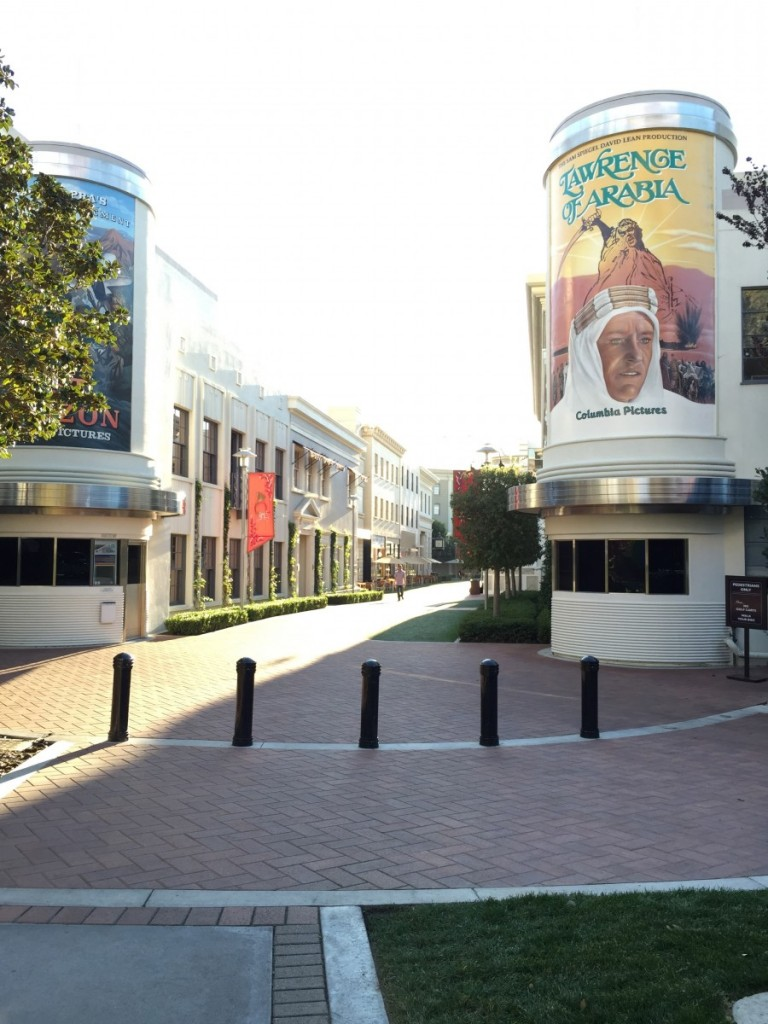 At Sony Pictures Studio