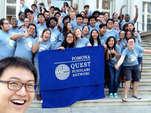 The Pomona chapter of the Quest Scholars Network! QuestBridge is a national organization that services low income and first generation students.