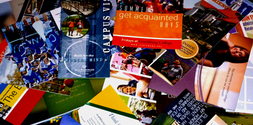 Yeah, any college can hand you a glossy brochure and entice you to attend that school. But what questions can you ask to REALLY find out more?