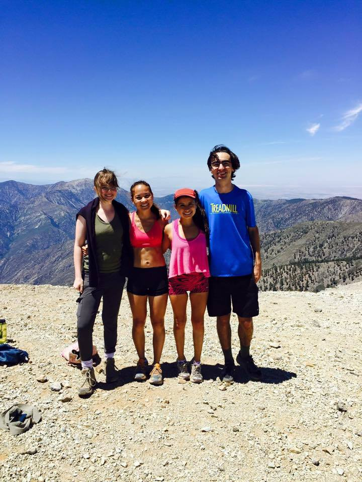 My very tolerant fellow Mount Baldy hikers (who are considerably more fit)