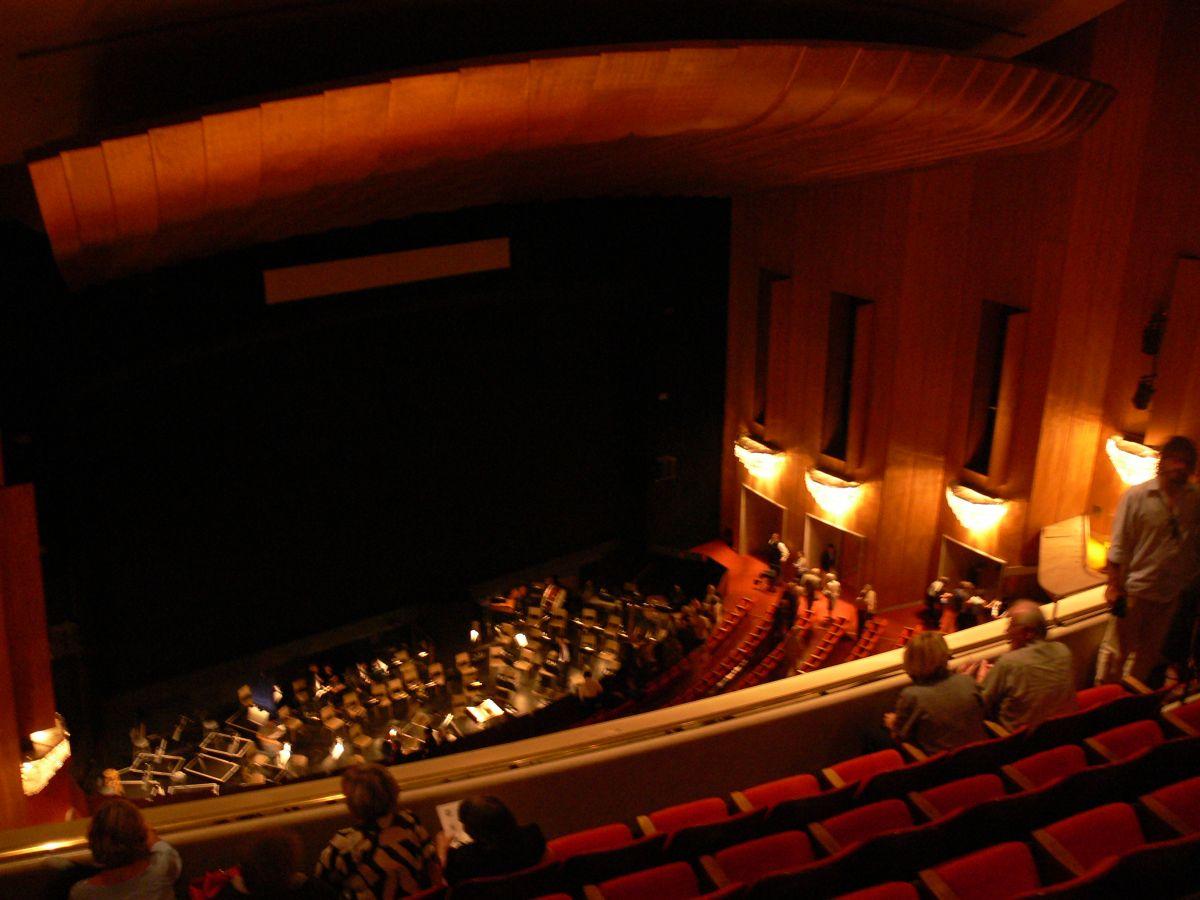 LA Opera Interior