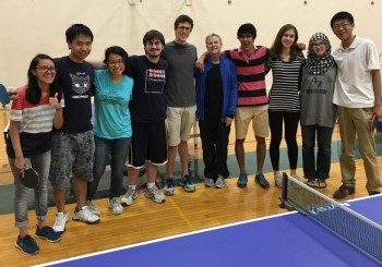 My amazing ping pong class with Coach B! :^)
