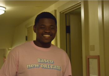 Toran in Based New Orleans T-shirt