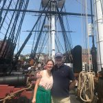 At the USS Constitution