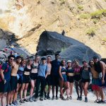 Sophia and OA friends after swimming in Yosemite Falls