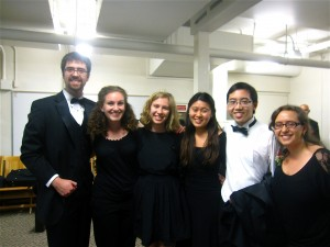 The viola section!