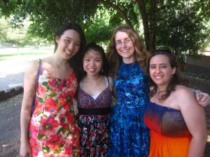 Some of us at our post-grad picnic