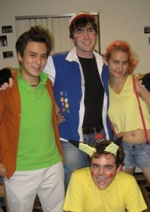 Me and some awesome people dressed up as Pokemon characters ca. October 2010