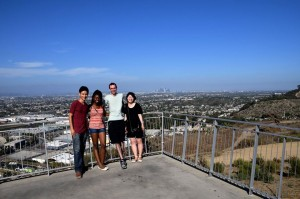 My penchant for scenic lookout knows no bounds. Atop Baldwin Hills Scenic Lookout at Culver City.