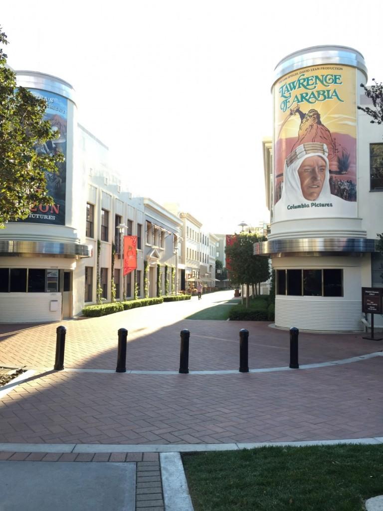 At Sony Pictures Studio