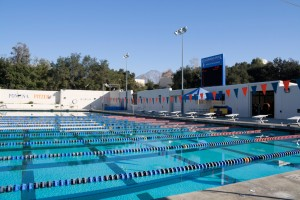 Haldeman Pool: the place where I come to splash around in the Southern California sunshine every Tuesday and Thursday from 1:15PM-2:30PM.