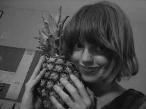 My pineapple lover... #sorrynotsorry