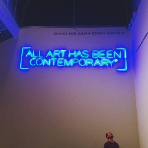 What is contemporary, anyway?