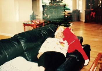 Grammie and her fav grandchild Kyra