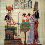 image of Nefertari and Isis