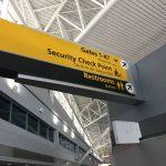 Gate 47 at airport