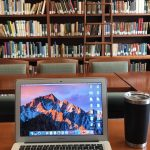 Mason Library, a favorite place to do my GWS readings