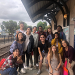 A trip to Little Tokyo, Los Angeles with my ID1 Class, Mirroring Japan/ese America