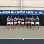 Tennis team at National Indoor Championships