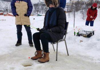 Dakota ice fishing