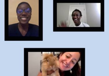 Friends from French, featuring Oliver bunny