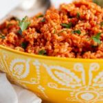 bowl of jollof rice