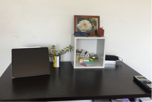Nelia's desk