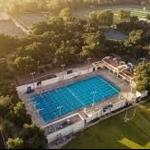Haldeman Pool from above