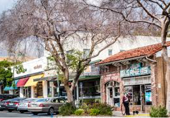 shops in Claremont Village
