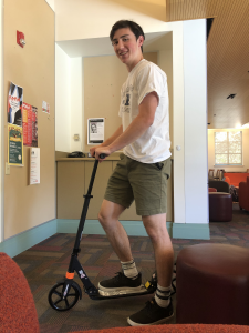 Bryce on scooter