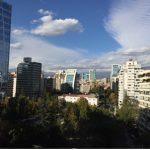Santiago, Chile from Nelia's window